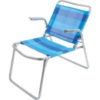 Кресло-шезлонг складное, синий (арт. К1)