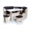 """Набор кухонной мебели """"Орхидея"""" ясень/221-101, бежевый+ коричневый"""