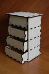 Комод на 4 ящика (арт. 01020045)
