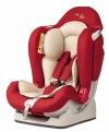 Автокресло Liko Baby LB 510 от 0 до 25 кг красный/лен