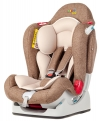 Автокресло Liko Baby LB 510 от 0 до 25 кг коричневый/лен