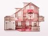 Кукольный домик с гаражoм