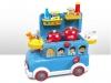 Музыкальный автобус-толокар + игровая кухня