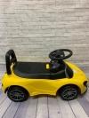 Машина-толокар, желтая