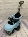 Машина-толокар с родительской ручкой, голубой (арт. 6699)