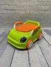 """Детский горшок """"Машина"""" зеленый"""