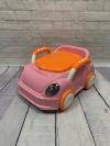 """Детский горшок """"Машина"""" розовый"""