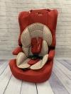 Автокресло Liko Baby LB 513 C универсальное 9-36 кг. от 1 - 12 лет кирпичный лён