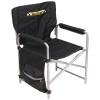 Кресло складное 2, с карманами, черное (арт. КС2)