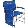 Кресло складное 2 с карманами, синий (арт. КС2)