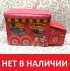 Пуф-ящик для игрушек, красный