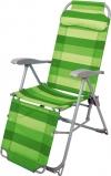 Кресло-шезлонг складное, зеленый (арт. К3)
