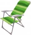 Кресло-шезлонг складное, зеленое (арт. К2)