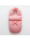 "Конверт в коляску, санки  ""Armani Baby"" розовый"