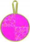 Ледянка (Л40) розовый с сердечками