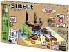 """Стикбот """"StikBot"""" - Пиратский корабль – анимационный мини-павильон с декорациями"""